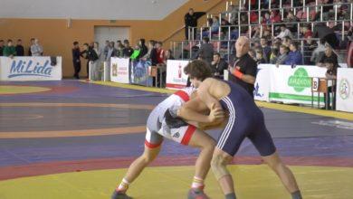Photo of В Лиде в спорткомплексе «Олимпия» прошел 14 Международный турнир по греко-римской борьбе