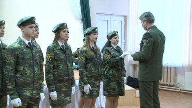 Photo of В шестой лидской школе десятиклассники произнесли торжественную клятву кадета