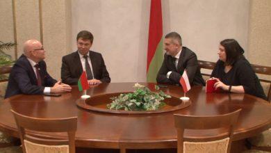 Лиду посетил посол Польши в Беларуси Артур Михальский