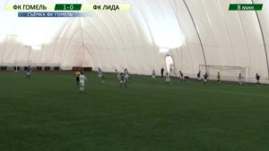 Футбольный клуб «Лида» в очередном товарищеском матче одержал победу