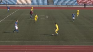 Футбольный клуб «Лида» в товарищеском матче одержал победу над «Шахтером»