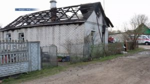 Пожар в Лиде стал причиной гибели 90-летней местной женщины