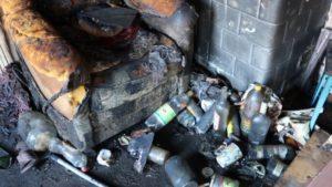 В Лиде на пожаре погибли супруги-пенсионеры