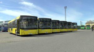 Техники в Лидском автобусном парке стало больше