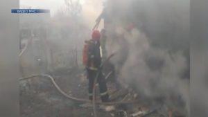 В Лидском районе на пожаре погиб человек