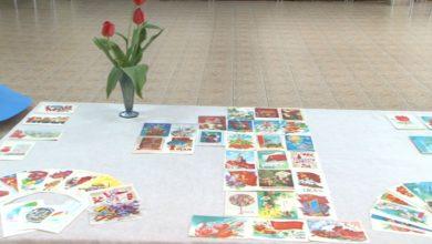 Photo of В Лидском музее открылась выставка «Обратная сторона открытки. Мир! Труд! Май!»