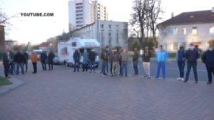 Задержали за участие в несанкционированном митинге