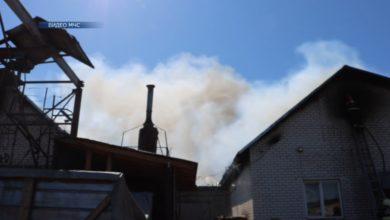 7-го мая в Лиде произошел пожар на предприятии «Сатурн»