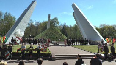 Лидчина отметила 75-ю годовщину Великой Победы