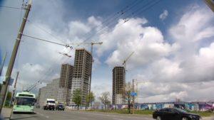 В столице активно развивается жилой комплекс «Минск Мир»