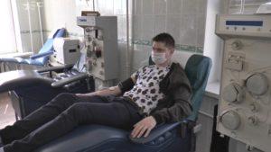 Лидская станция переливания крови начала забор плазмы у пациентов, переболевших COVID-19