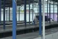 Photo of На рынке по улице Комсомольской сегодня провели внеплановый санитарный день