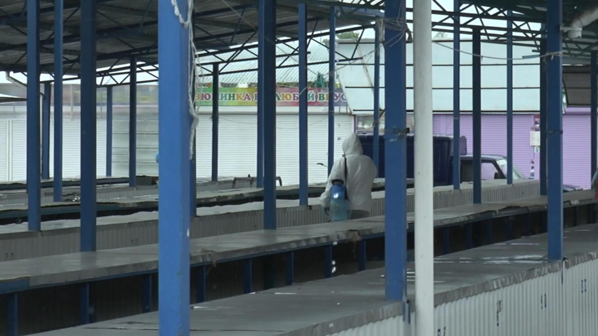 Рынок по улице Комсомольской в Лиде вчера был закрыт.