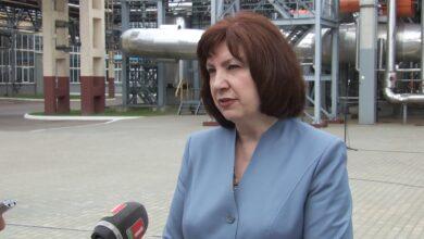 Лиду посетила председатель Совета Республики Национального собрания Беларуси Наталья Кочанова