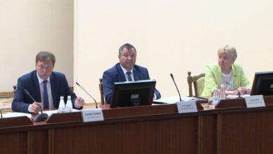 Лиду посетил министр природных ресурсов и охраны окружающей среды Анрей Худык
