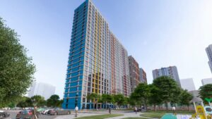 Три новых дома в столичном жилом комплексе «Минск Мир»