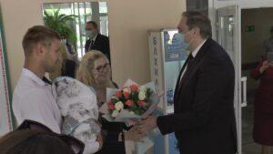 Приезд Министра здравоохранения Республики Беларусь в Лиду
