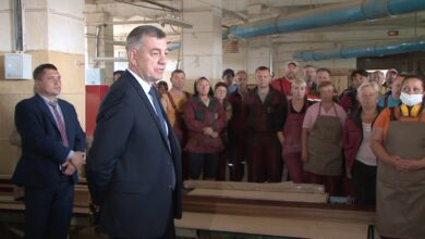 Лиду посетил заместитель Премьер-министра Беларуси Юрий Назаров