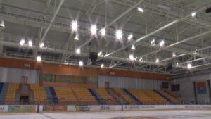 Ледовый дворец после регламентных работ вновь принимает спортсменов.