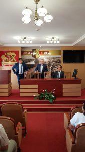 Директор Парка высоких технологий Всеволод Янчевский продолжает работу в Лиде.