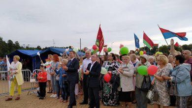 Митинг «За Беларусь!» в поддержку мира, безопасности и спокойствия состоялся в Лиде.