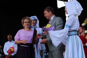 """""""Мой город мира и добра!"""" Церемония открытия праздничных мероприятий, посвященных дню города Лиды"""