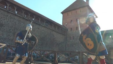 Photo of Лидский замок пригласил на рыцарский турнир