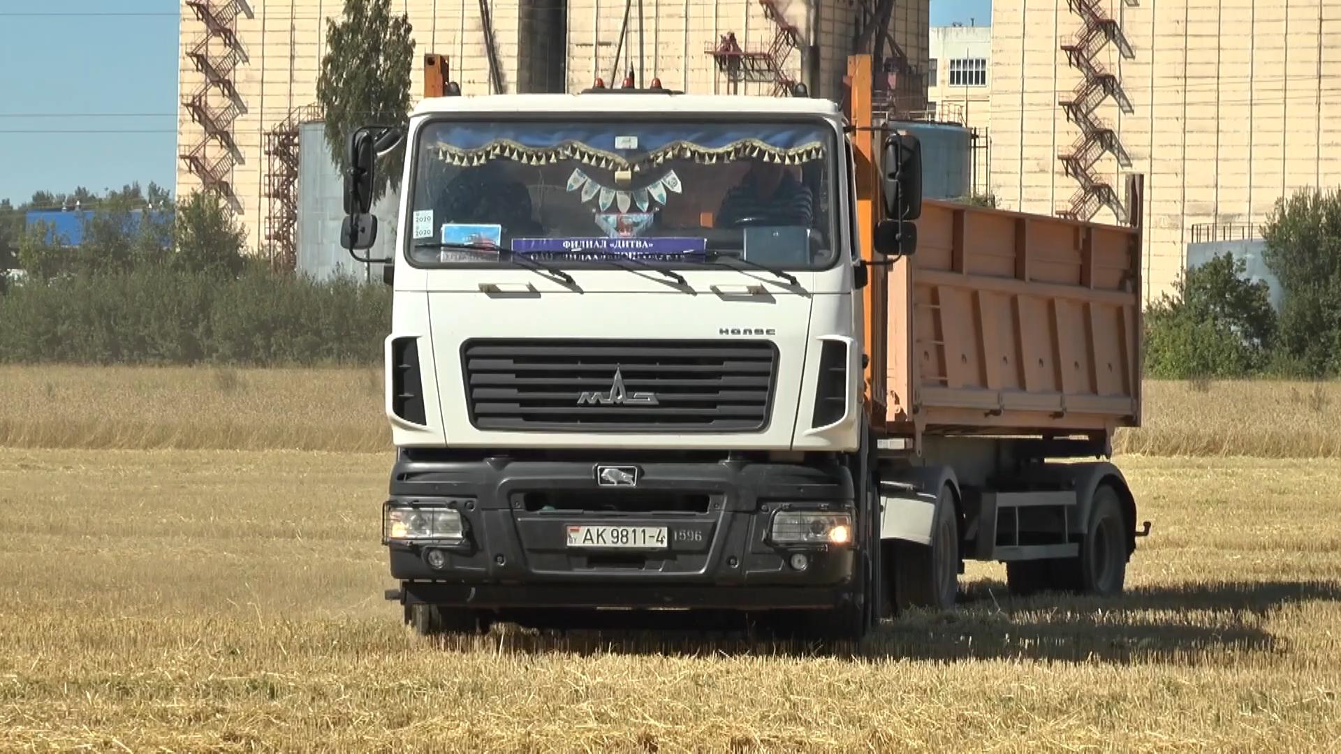 В Лидском районе аграрии, убрав 72% площадей, отведенных под зерновые и зернобобовые, собрали более 51 тысячи тонн зерна.