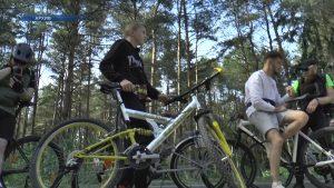 Лидчане приняли участие в очередном велопробеге