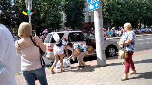 В минувшие выходные дни лидчане продолжили выходить на мирные акции