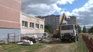 В 17-й лидской школе завершается ремонт пищеблока и обеденного зала