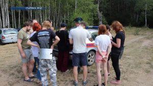 Спасатели и работники Лидского лесхоза провели рейд по обеспечению пожарной безопасности в лесах