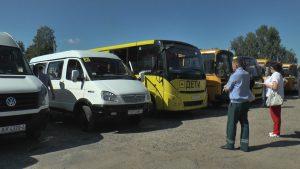 Специальная комиссия проверила все школьные автобусы в регионе