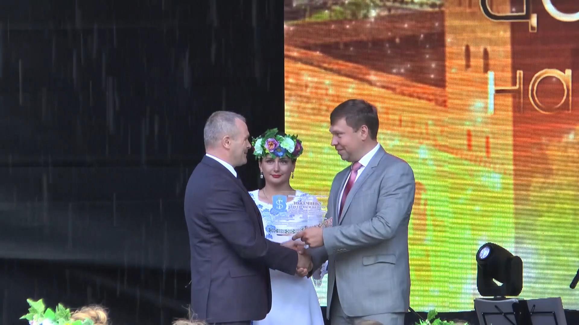 Главе Лидского района Сергею Ложечнику присвоено звание «Почетный гражданин города Щучин».