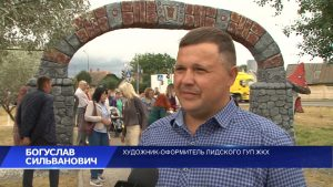 В городском парке культуры и отдыха открылся арт-проект под названием «Сказочная карусель»