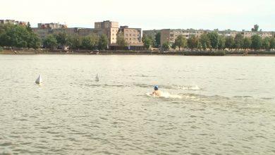 Лидское озеро стало местом проведения Марафонского заплыва на открытой воде