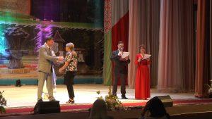Лидские строители принимали поздравления с профессиоанльным праздником