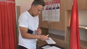 Для впервые голосующих лидчан президентские выборы – особый день