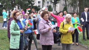 К акции «За Беларусь!» присоединились работники культуры Лидчины