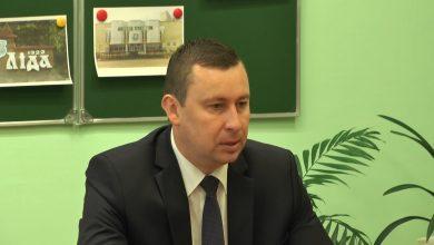 Министр жилищно-коммунального хозяйства Беларуси Андрей Хмель посетил 16-ю лидскую школу
