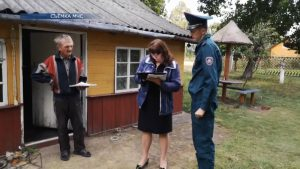 В Лидском районе проходит акция «С заботой о безопасности малой Родины»