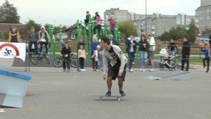 В Лиде впервые провели Открытый Кубок Лидского района по скейтбордингу