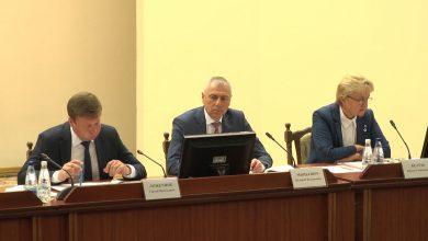 Участники заседания Лидского исполкома обсудили реализацию проекта «Лида – территория ЗОЖ»