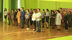 Мероприятие в форме флешмоба провели в рамках областного проекта «Моя золотая медаль»