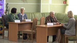 В Лиде отметили день пожилых людей