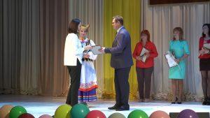 Учителей в канун праздника чествовали во Дворце культуры города Лиды