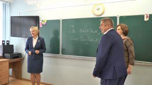 Лидчане присоединились к областной акции «Возвращение к школьной доске»