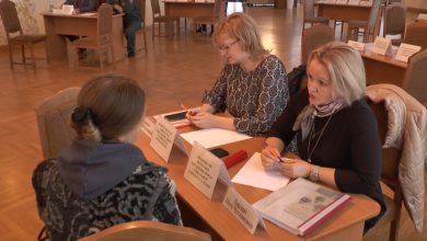 В Лиде прошла встреча представителей отделов и управлений Гродненского облисполкома с предпринимателями региона