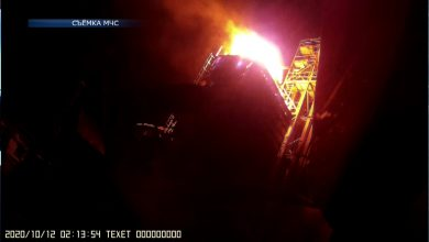 На зерносушильном комплексе в деревне Ходоровцы Лидского района случился пожар
