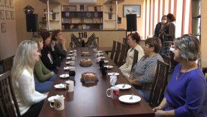 Военнослужащие срочной службы 116 штурмовой авиабазы поздравили своих мам с праздником